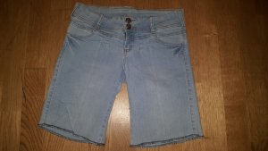 Tally Weijl Pantalón corto de tela vaquera azul claro