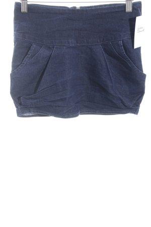 Tally Weijl Denim Skirt blue street-fashion look