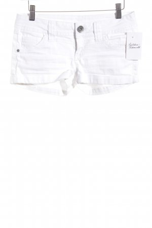 Tally Weijl Denim Shorts white simple style