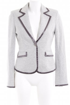 Tally Weijl Blazer court gris clair-gris style d'affaires