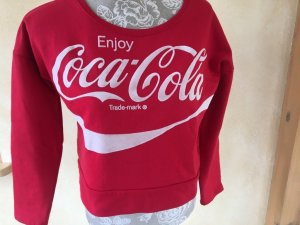 Tally Weijl Suéter rojo-blanco tejido mezclado
