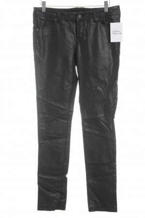 Tally Weijl Leren broek zwart straat-mode uitstraling
