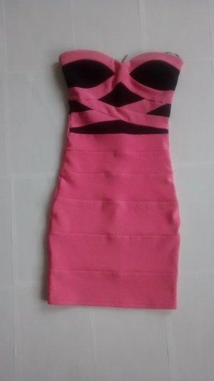 Tally Weijl Vestido bandeau multicolor