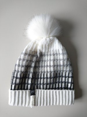Tally Weijl Knitted Hat white-black