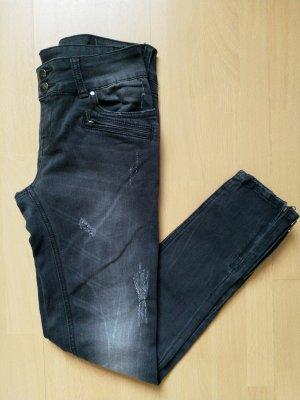 Tally Weijl Premium Jeans Black Schwarz Gr. 38 (Neu)