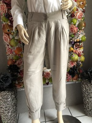 Tally Weijl Pantalon large beige clair