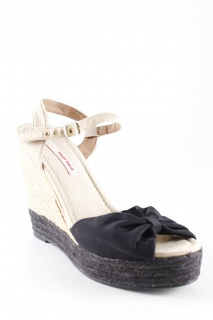 Tally Weijl Strapped pumps black-nude Bow detail
