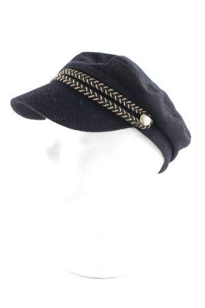 Tally Weijl Casquette à visière noir-doré style mode des rues