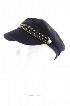 Tally Weijl Visor Cap black-gold-colored street-fashion look