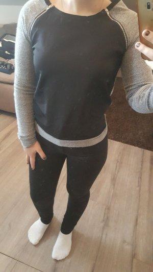 tally weijl Shirt in schwarz grau