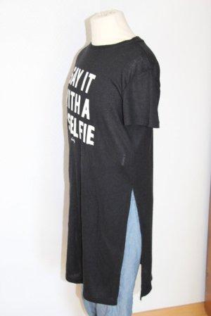 """Tally Weijl Shirt  Longshirt Gr. XXS """"Selfie"""""""