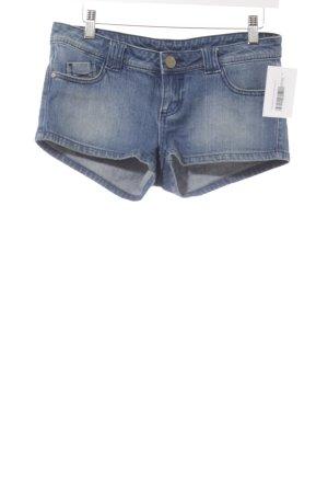 Tally Weijl Shorts blau Washed-Optik