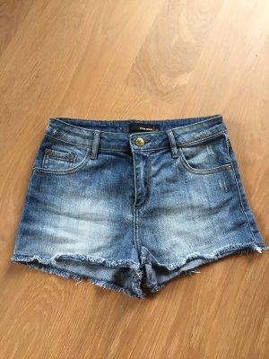 Tally Weijl Denim Shorts pale blue-azure