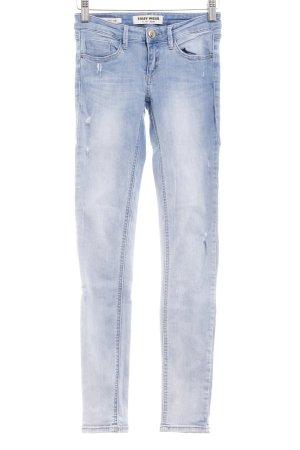 Tally Weijl Skinny Jeans blau Jeans-Optik