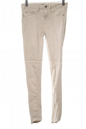 Tally Weijl Skinny Jeans creme Casual-Look