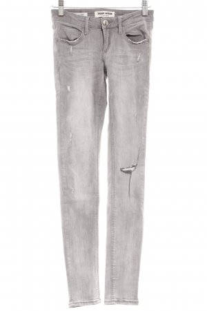 Tally Weijl Skinny jeans grijs casual uitstraling