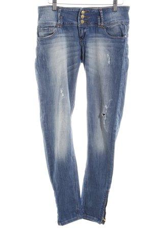 Tally Weijl Skinny Jeans kornblumenblau Casual-Look