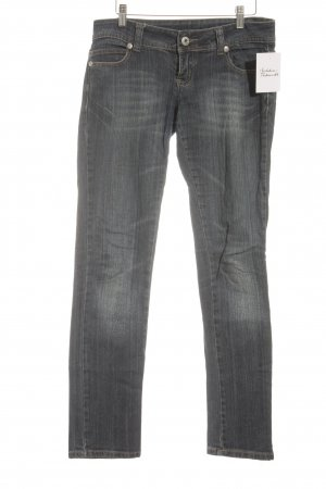 Tally Weijl Straight-Leg Jeans dunkelblau Street-Fashion-Look