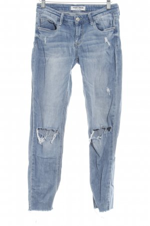 Tally Weijl Stretch Jeans himmelblau Casual-Look