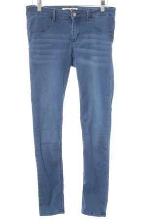 Tally Weijl Stretch Jeans stahlblau Casual-Look