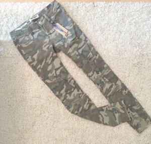 Tally Weijl Super Skinny Camouflage Jeans Blogger Destroyed NEU Zoe Gr.XS