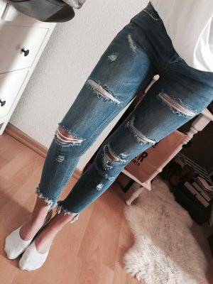 Tally Weijl Super Skinny Ripped Jeans Destroyed NEU Gr.S