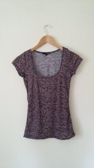 Tally weijl, t-Shirt, Blumenprint, Gr. M, bunt