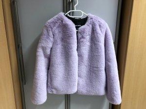 Tally Weijl Wool Jacket purple mixture fibre
