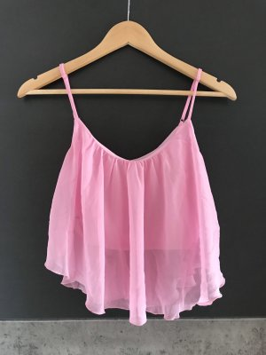 Tally Weijl Cropped Top pink