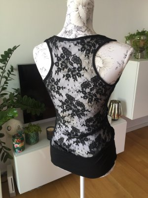 Tally Weijl Lace Top black