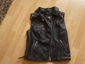 Tally Weijl Leather Vest black