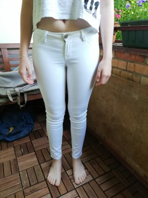 Tally Weijl Vaquero skinny blanco Algodón