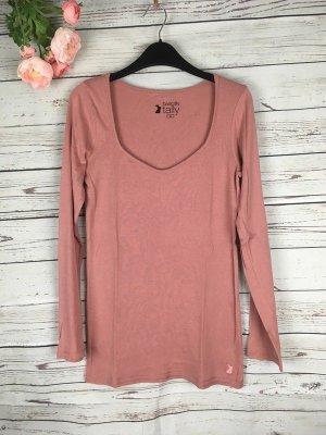 Tally Weil Basic Shirt Altrosa Rosa Gr. S 36