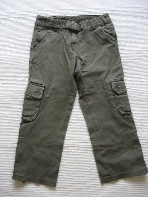 tally weilj caprihose khaki militaer gr. 36 s
