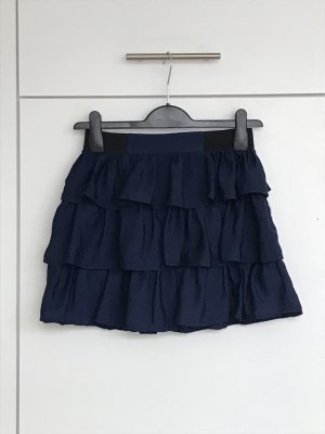 Tally Weijl Broomstick Skirt dark blue