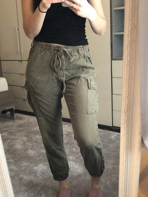 Tally Weijl Pantalon kaki-gris lilas
