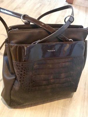 Tamaras Lederhandtasche / kleiner Rucksack