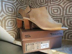 Tamaris Bottes à bout ouvert multicolore cuir