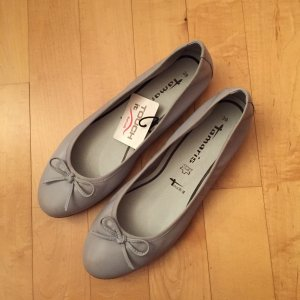 Tamaris 22116 Ballerinas grau 39 Leder Touch It Neu 49,95 Euro