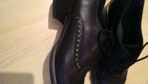 Tamaris Lace-up Pumps black leather