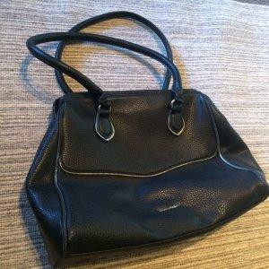 Tamaris Carry Bag black-silver-colored