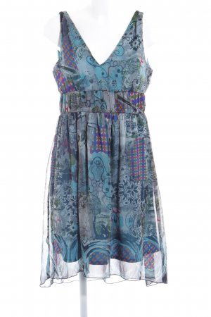 Tamaris A Line Dress abstract print casual look