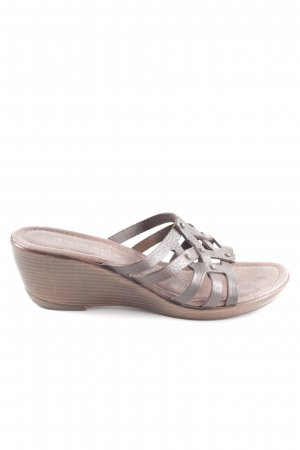 Tamaris Heel Pantolettes brown casual look