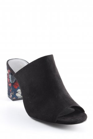Tamaris Heel Pantolettes flower pattern street-fashion look