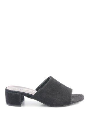 Tamaris Sandalo con tacco nero stile casual
