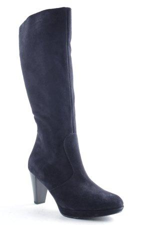 Tamaris Heel Boots dark blue-black casual look