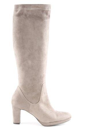 Tamaris Absatz Stiefel graubraun Casual-Look