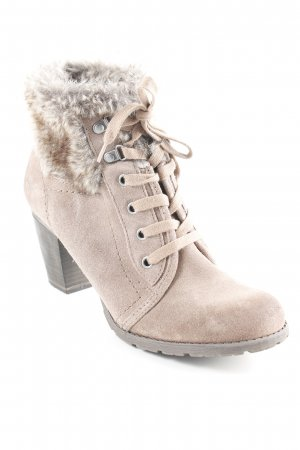 6f9e71ec66b3ab Tamaris Heel Boots light brown-grey brown casual look
