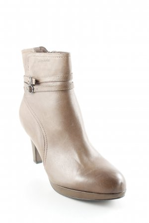 Tamaris Absatz Stiefel hellbraun Street-Fashion-Look