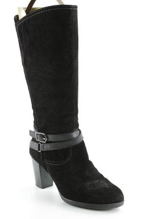 Tamaris Absatz Stiefel schwarz klassischer Stil